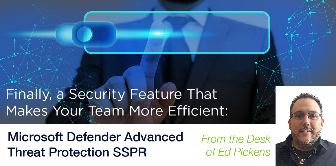 Microsoft Defender Advanced Threat Protection SSPR